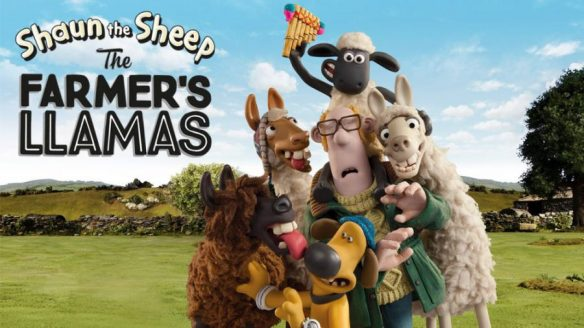 shaun the sheep llamas