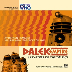 invasion of the daleks dalek empire cd cover
