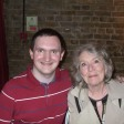 Tim Bradley with Colette O'Neil at 'celebrate 50 - The Peter Davison Years' in Chiswick, London, April 2013