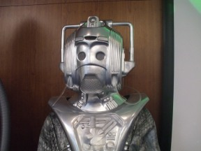 Silver Nemesis Cyberman at 'The Capitol II', Arora Hotel, Gatwick, May 2017