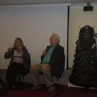Anneke Wills and Colin Baker at 'Regenerations 2010', Swansea, September 2010