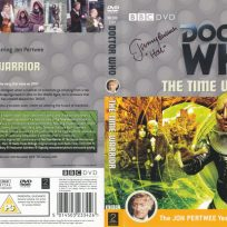 Tim Bradley's DVD cover of 'The Time Warrior' signed by Jeremy Bulloch